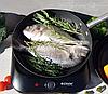 Сковорода Edenberg EB-3331 чугунная антипригарное рифленое покрытие 20 см, фото 3