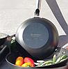Сковорода Edenberg EB-3331 чугунная антипригарное рифленое покрытие 20 см, фото 4