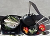 Сковорода Edenberg EB-3331 чугунная антипригарное рифленое покрытие 20 см, фото 6