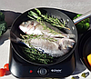 Сковорода Edenberg EB-3332 чавунна антипригарне рифлене покриття 24 см, фото 3