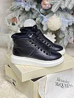 Стильні жіночі черевики ALEXANDER MCQUEEN (репліка), фото 1