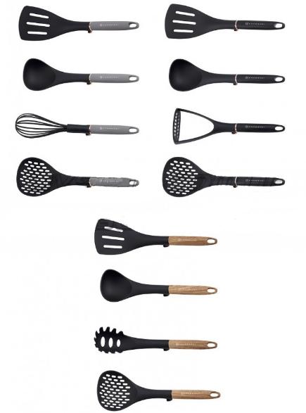 Набор поварешек Edenberg EB-3608 4 предмета | Набор Кухонных принадлежностей