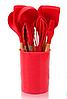 Набор поварешек с подставкой Edenberg EB-3610 12 предметов | Набор Кухонных принадлежностей, фото 3
