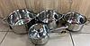 Набір каструль Edenberg EB-3707 8 предметів каструлі ківш з нержавіючої сталі, фото 4