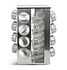 Набір для спецій Edenberg EB-4025 17в1 скляний обертається підставкою з нержавіючої сталі, фото 2