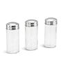 Набір для спецій Edenberg EB-4025 17в1 скляний обертається підставкою з нержавіючої сталі, фото 5