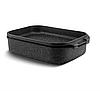 Гусятниця гриль сковорода Edenberg EB-4606 алюміній з мармуровим покриттям 5,5 л, фото 2