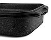 Гусятниця гриль сковорода Edenberg EB-4606 алюміній з мармуровим покриттям 5,5 л, фото 4