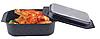 Гусятница сковорода гриль Edenberg EB-4611 алюминий с мраморным покрытием 8л, фото 2
