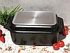 Гусятница сковорода гриль Edenberg EB-4611 алюминий с мраморным покрытием 8л, фото 4