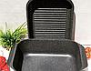 Гусятница сковорода гриль Edenberg EB-4611 алюминий с мраморным покрытием 8л, фото 6