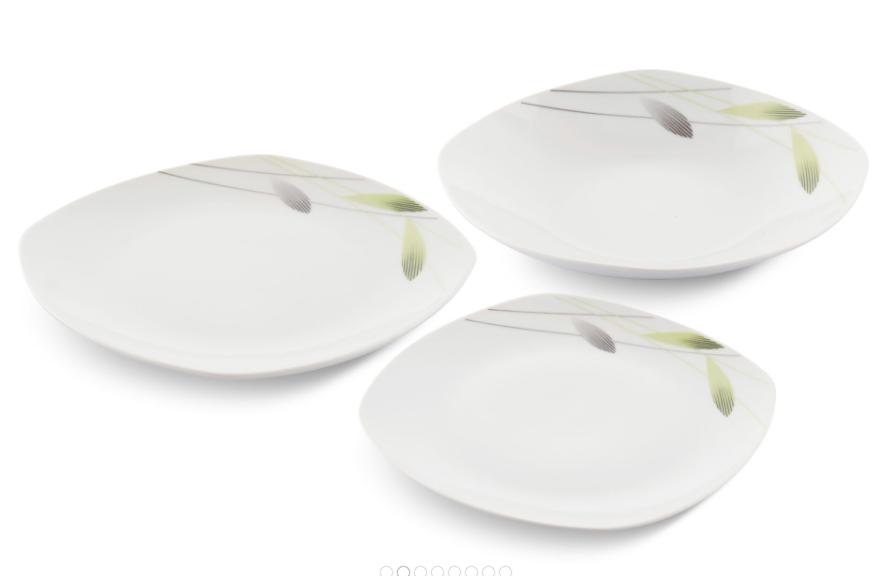 Столовый набор Edenberg EB-501 фарфор 18 предметов | Обеденный сервиз набор кухонных тарелок Эденберг