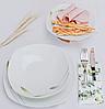 Столовий набір Edenberg EB-502 фарфор 18 предметів | Обідній сервіз набір кухонних тарілок Эденберг, фото 4