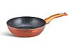 Набір посуду Edenberg EB-5618 15 предметів алюміній з мармуровим покриттям | Каструлі, сковороди ківш ополоники, фото 5
