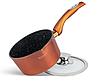 Набір посуду Edenberg EB-5618 15 предметів алюміній з мармуровим покриттям | Каструлі, сковороди ківш ополоники, фото 8