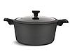 Набір посуду Edenberg EB-5641 12 предметів алюміній з мармуровим покриттям   Каструлі сковорода ківш, фото 2