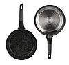 Набір посуду Edenberg EB-5641 12 предметів алюміній з мармуровим покриттям   Каструлі сковорода ківш, фото 7