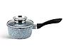 Набір посуду Edenberg EB-8040 алюміній з гранітним покриттям 14 предметів з кришками каструлі, сковороди ківш, фото 3