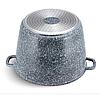 Набір каструль Edenberg EB-8045 з кришками 4 предмета алюміній, гранітне покриття | Каструлі глибокі, фото 3