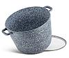 Набір каструль Edenberg EB-8045 з кришками 4 предмета алюміній, гранітне покриття | Каструлі глибокі, фото 7