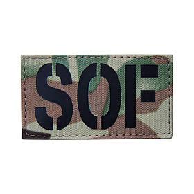 Патч SOF 45*80 V-Camo (Извините, но данный товар доступен только для продажи военнослужащим)