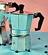 Гейзерна кавоварка Edenberg EB-3783 з литого алюмінію 450 мл 9 чашки | турка Эденберг, фото 3