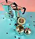 Гейзерна кавоварка Edenberg EB-3783 з литого алюмінію 450 мл 9 чашки | турка Эденберг, фото 4