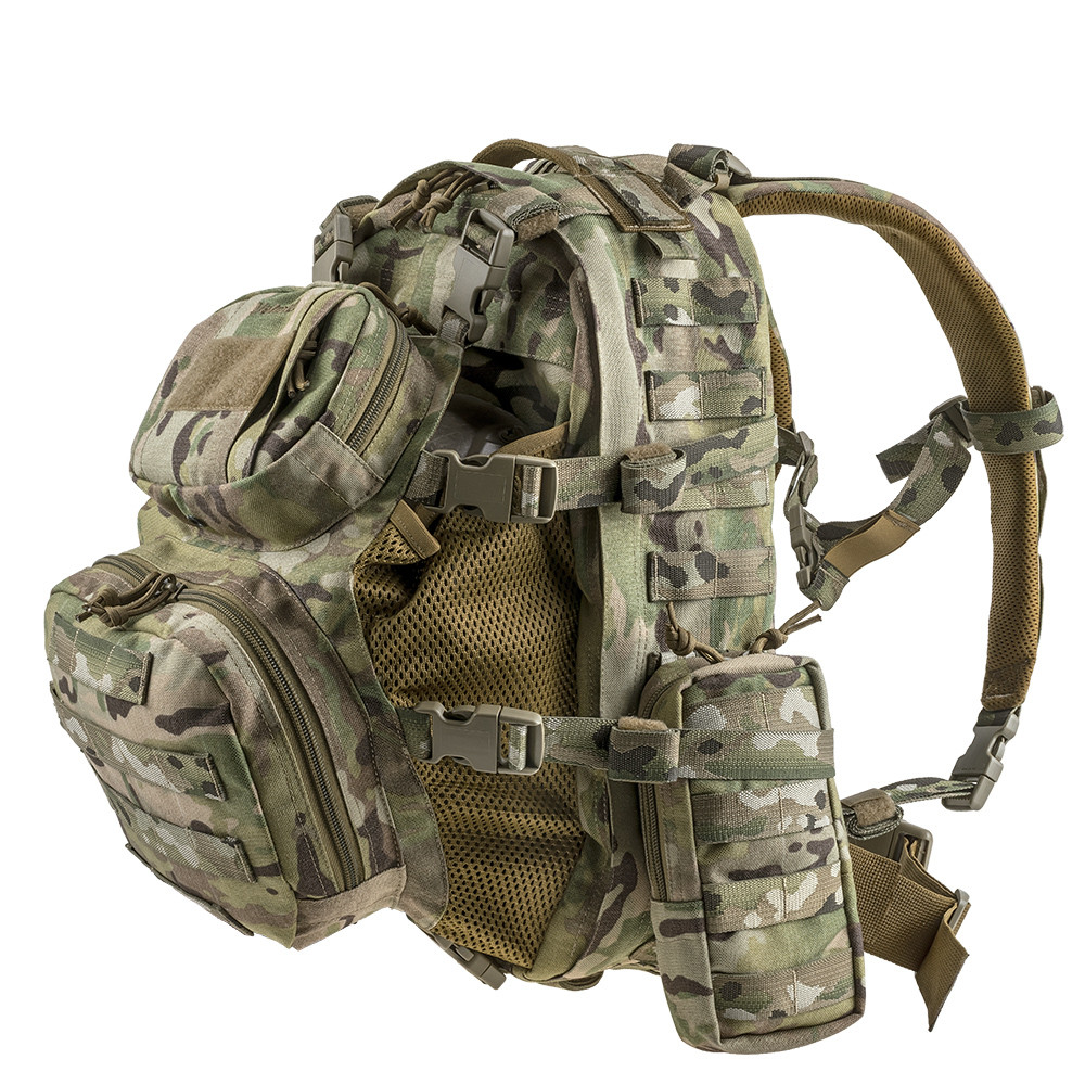 Тактичний штурмовий рюкзак HCP-L V-Camo