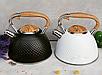 Чайник Edenberg EB-8829 со свистком из нержавеющей стали 3 л   Свистящий чайник, фото 4