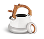 Чайник Edenberg EB-8823 зі свистком з нержавіючої сталі 3 л | Свистить чайник, фото 4