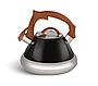 Чайник Edenberg EB-8823 зі свистком з нержавіючої сталі 3 л | Свистить чайник, фото 5