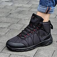 Кросівки чоловічі зимові чорні теплі (код 5909)