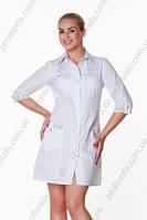 Халат медицинский женский ЭРИКА габардин, фото 1