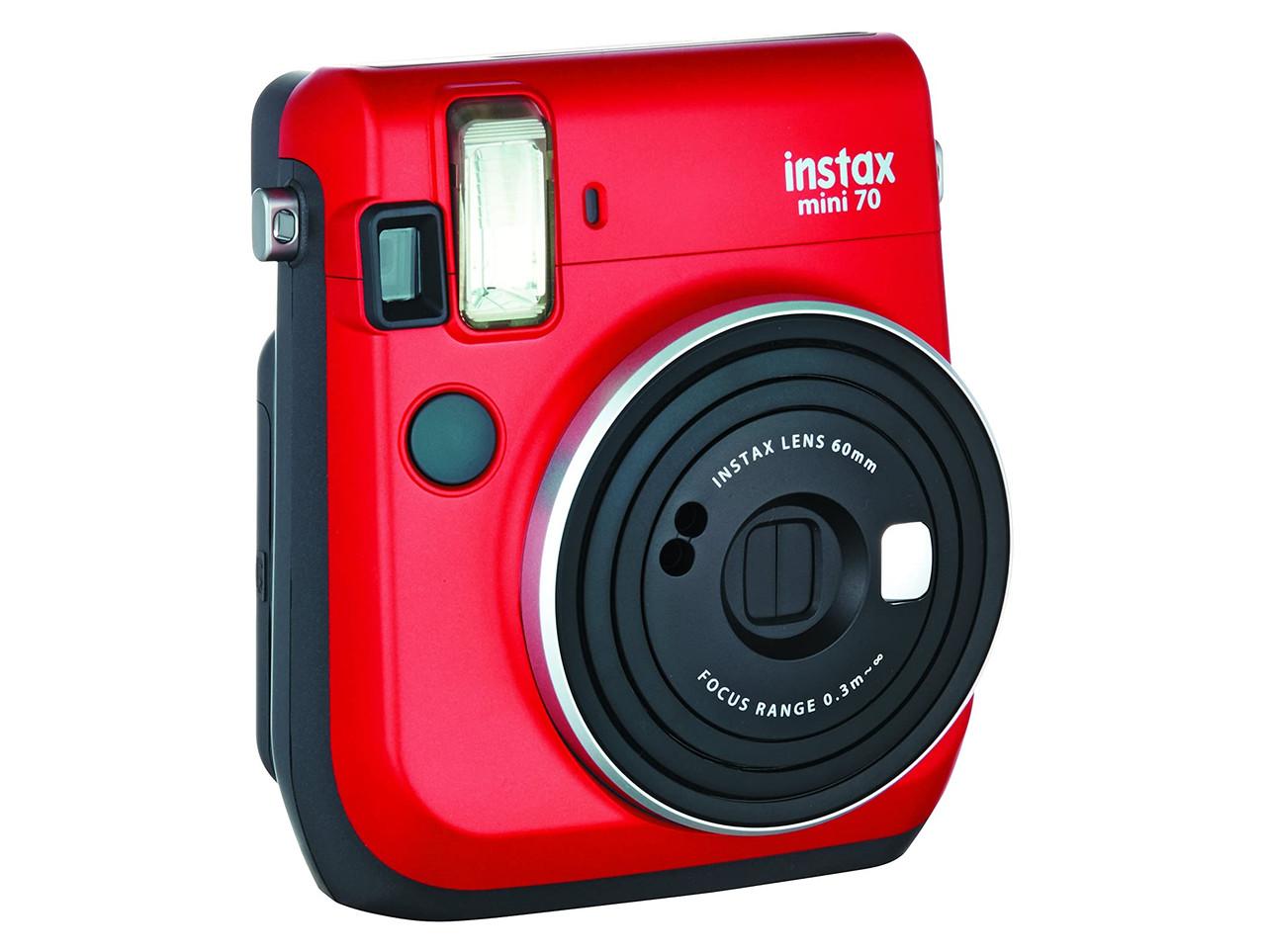 Фотоапарат миттєвого друку Fujifilm Instax Mini 70 Red