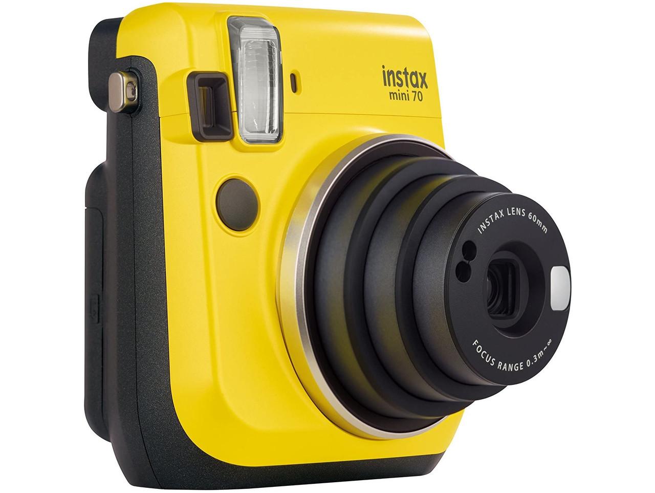 Фотоапарат миттєвого друку Fujifilm Instax Mini 70 Yellow