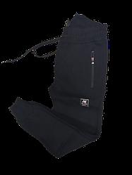 Спортивные штаны на флисе AX для мальчика, подростка, теплые штаны цвет черный