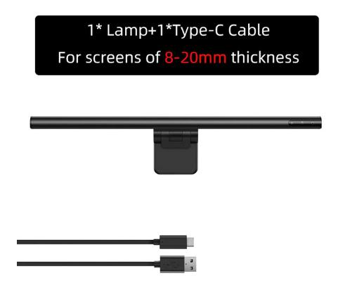 Лампа світлодіодна для екранів комп'ютера товщиною 8-20 мм Baseus