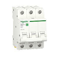 Автоматичний вимикач Schneider Electric 63А, 3P, С, 6кА (R9F12363), фото 1