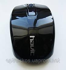 Беспроводная оптическая мышь HAVIT HV-MS970GT, USB, черная, фото 3