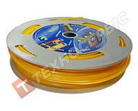 Трубка пневматическая полиэтилен РЕ Ø8-10мм (пр-во SALFLEX) Турция цвет желтый (норма отпуска бухта 100м)
