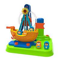 Конструктор Edu-Toys Піратський корабель з інструментами (JS026), фото 1