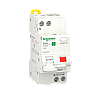 Дифавтомат Выключатель дифференциального тока Schneider Electric, 25A, 1P+N, C, 30mA, 6кА (R9D25625)