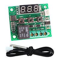 Терморегулятор цифровой W1209 (12V DC; 5А/220V AC, 15A/14V DC) c выносным датчиком 50 см