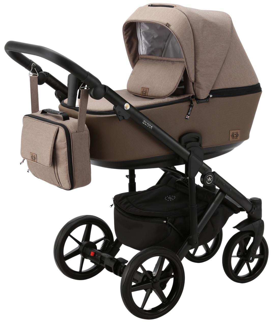 Детская универсальная коляска 2 в 1 Adamex Olivia PS-15