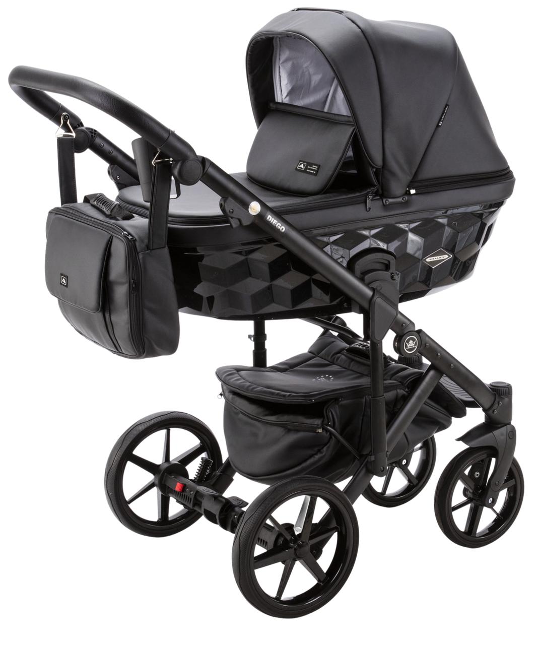 Детская универсальная коляска 2 в 1 Adamex Diego SA-2