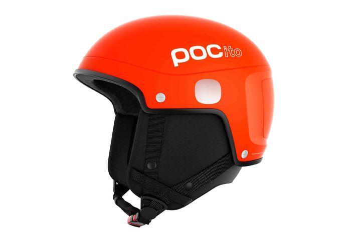 POCito Light helmet шолом гірськолижний (Fluorescent Orange, M/L)