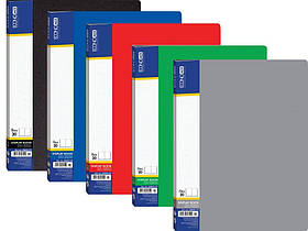 Папка пластикова А4 з 20 файлами Economix E30602