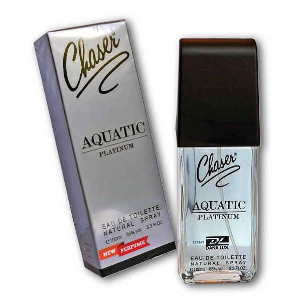 Туалетна вода Chaser Aquatic Platinum EDT 100 мл (6296538490510)