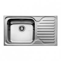 Мойка кухонная ТЕКА CLASSIC MAX 1B 1D LHD полированная левая