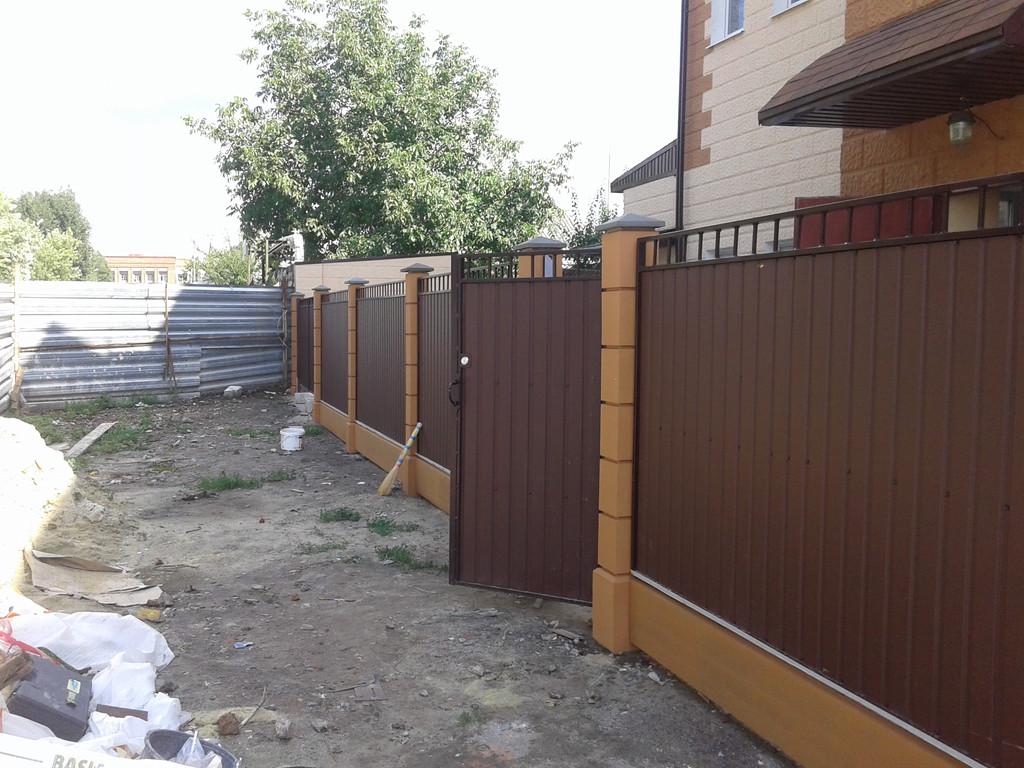 Также были изготовлены калитка и ворота по аналогичному эскизу